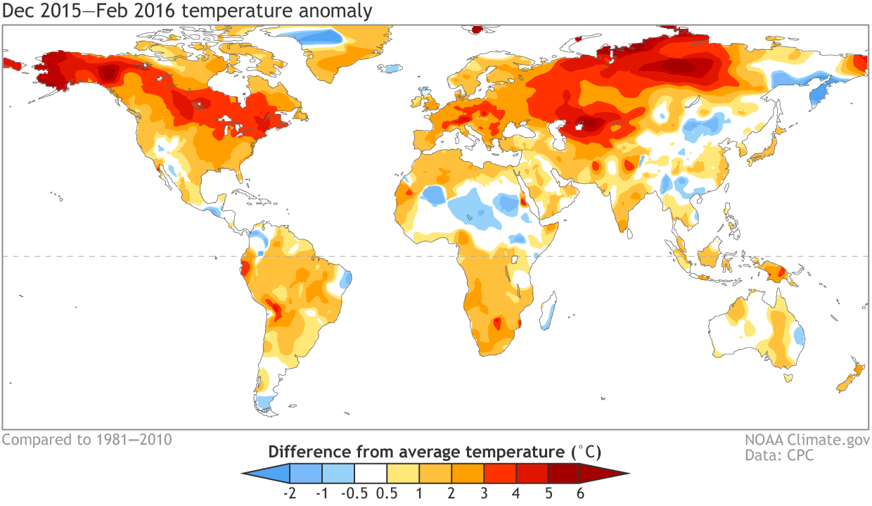 The Dake Page Christmas  The Hottest Climate Year On Record - Us weather map march