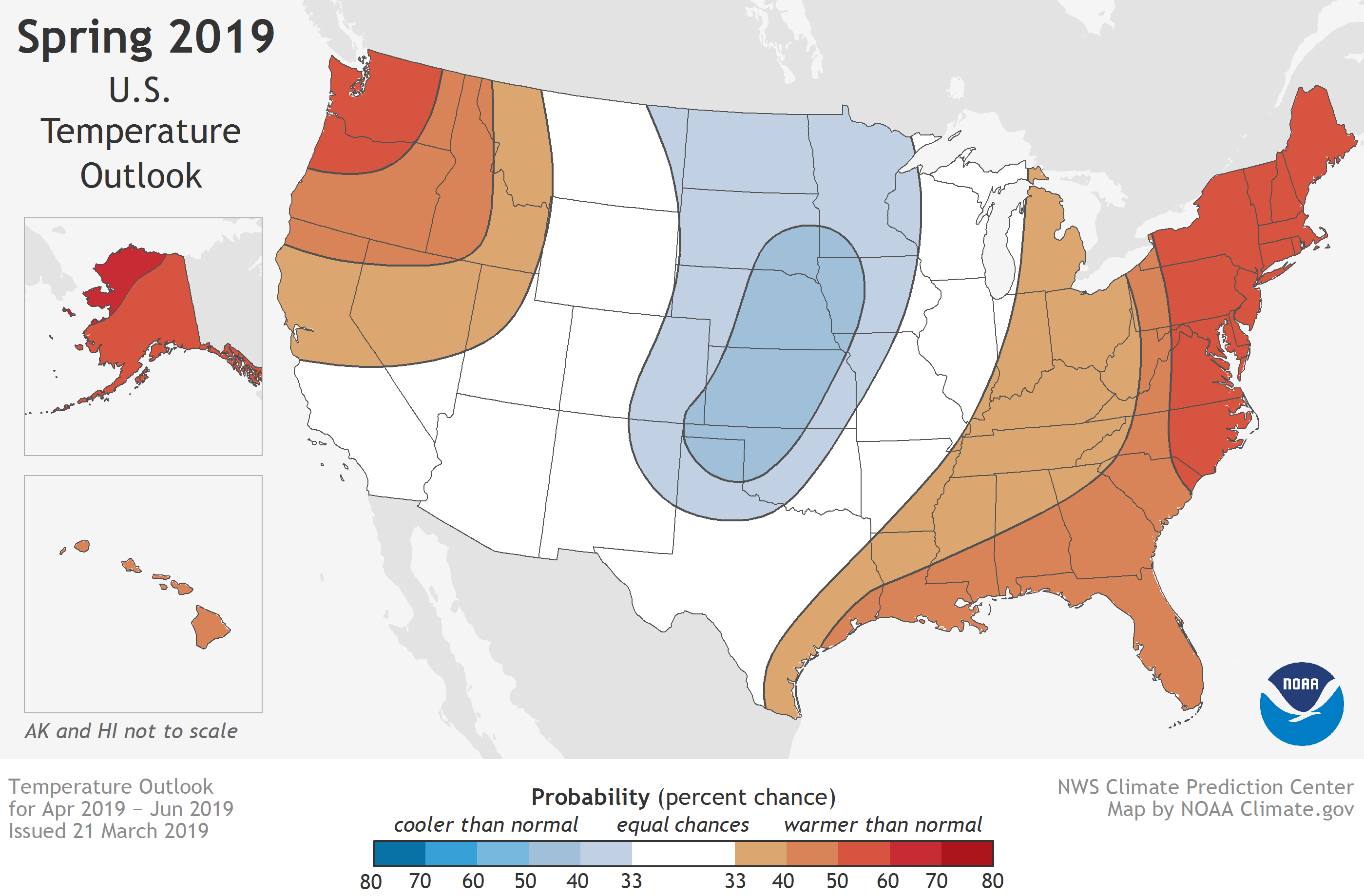 U.S. flood and climate outlook for spring 2019 | NOAA ...