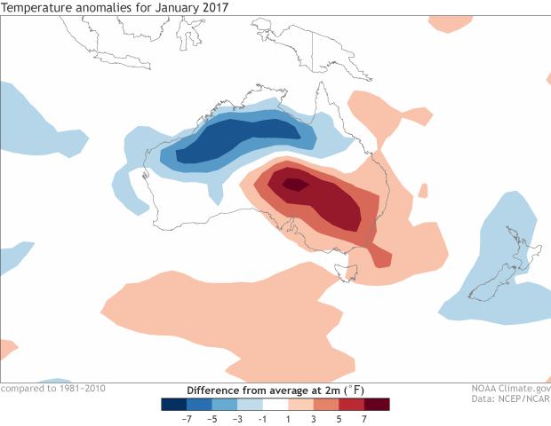 temperature, anomaly, Australia,