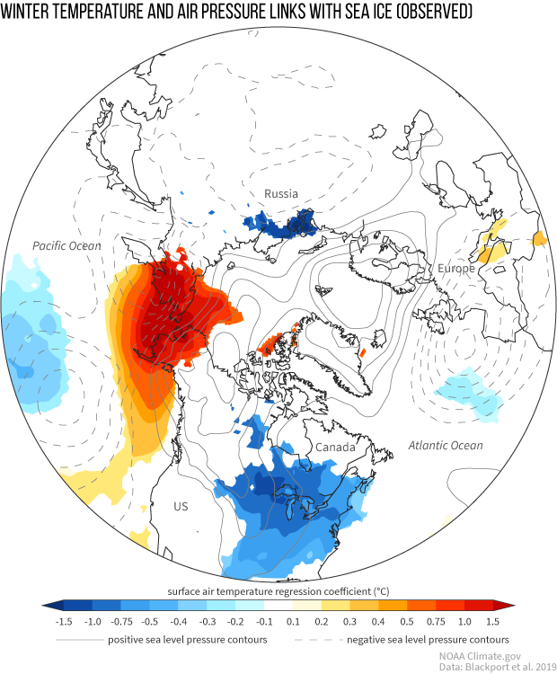 sea ice, arctic, cold temperatures, winter