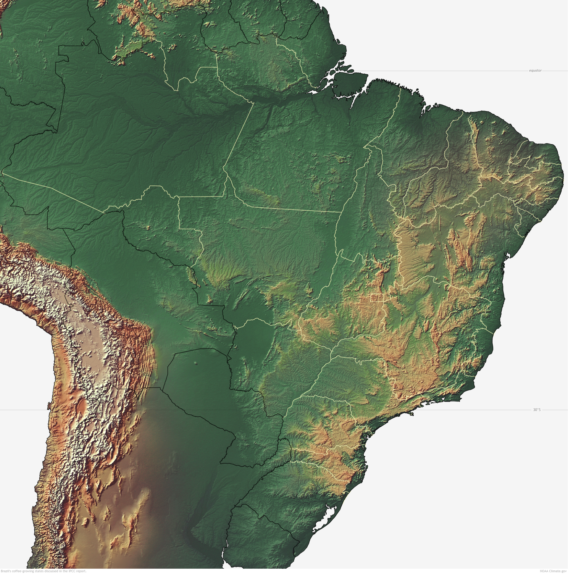 Where is Brazil? Climate, terrain and other features of the country 20
