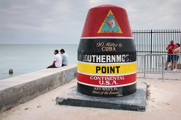 Key West, FL. Southern point marker (Photo)