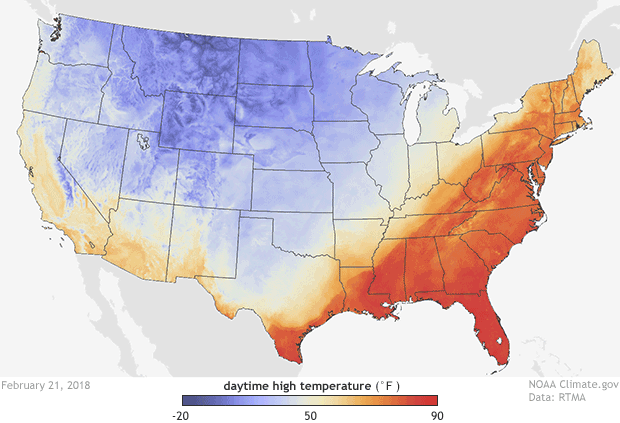 RTMA, High Temperature