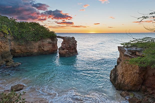 Sunset at Cabo Rojo, Puerto Rico