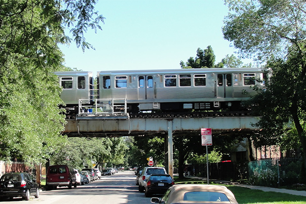 Elevated Train Chicago