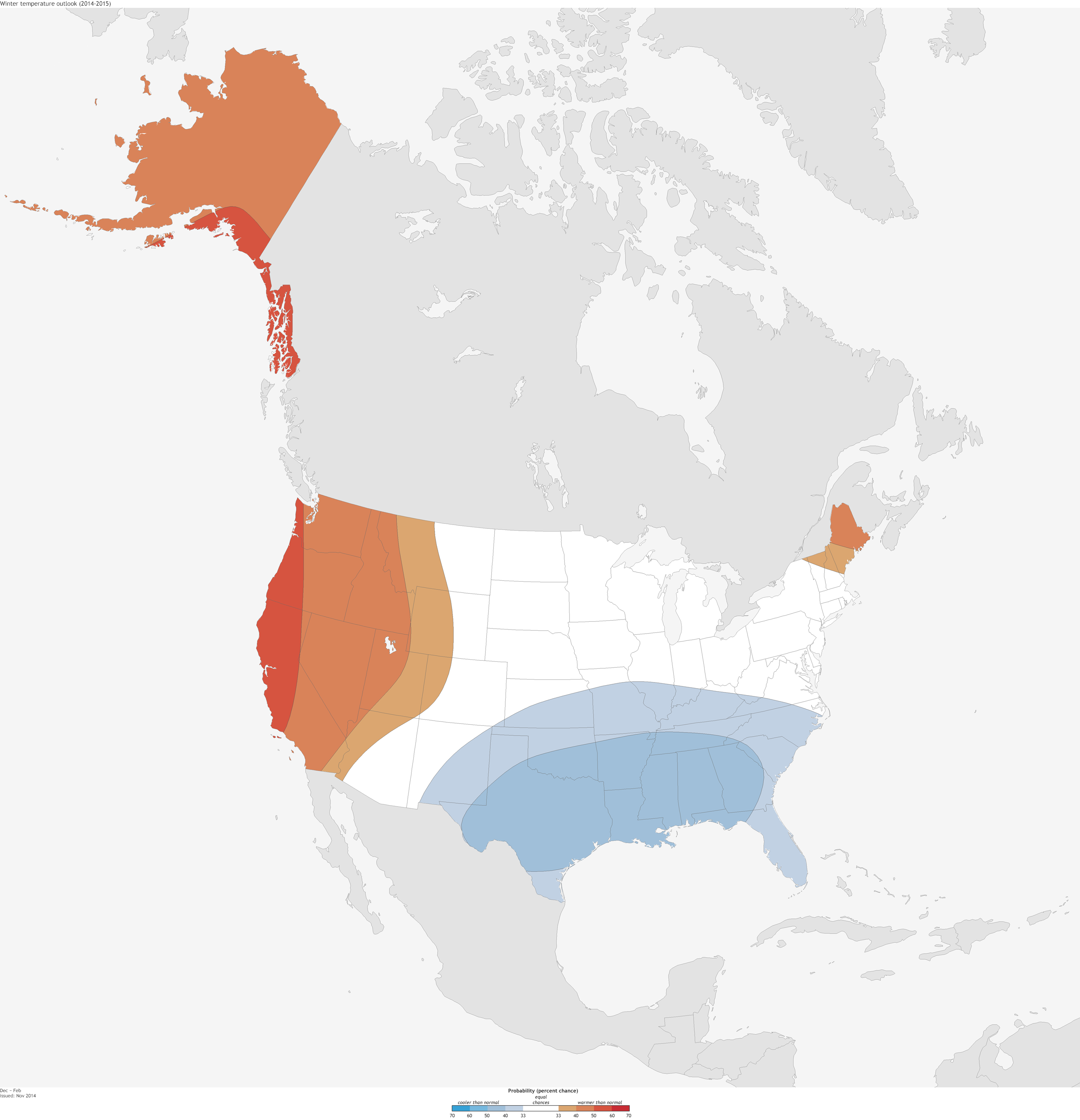 Above Or Below Normal Means Temperatures In The Upper Or Lower Third Of The  Range Of