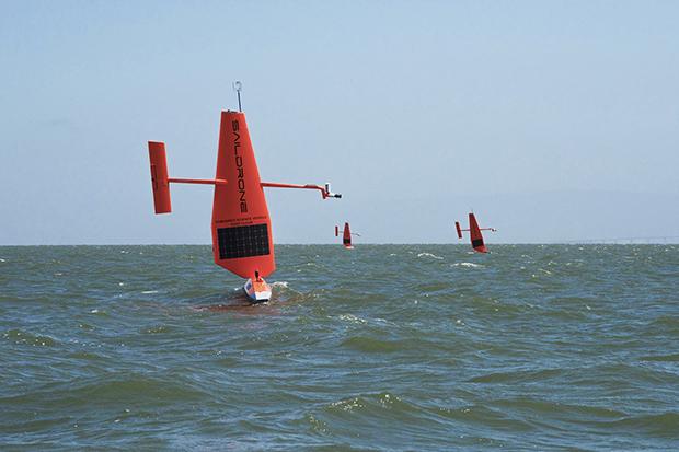 Sailing drones