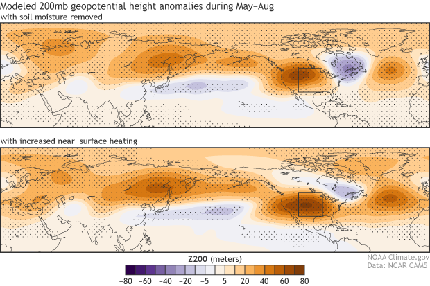 200mb geopotential height anomalies