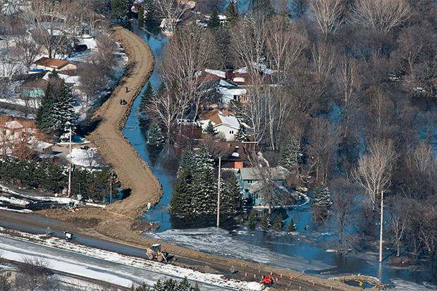 Fargo, ND, flooded in 2009