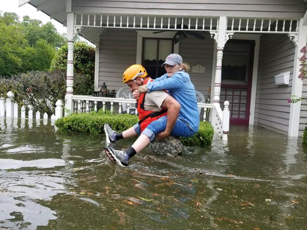 Houston, Flood, rescue, National Guard