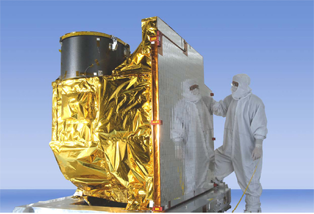 Artist Rendition of GOES-R Advanced Baseline Imager.