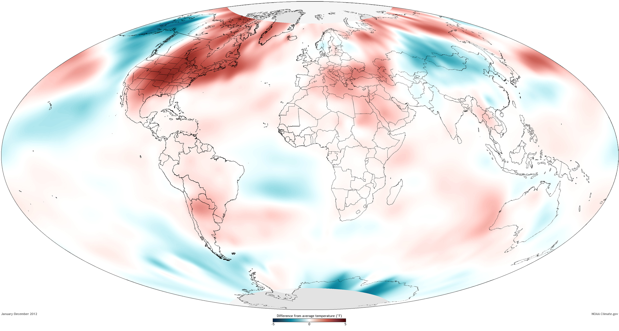 2012 Global Temp Anomaly