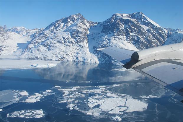 NASA Photo of Helheim Fjord, Greenland