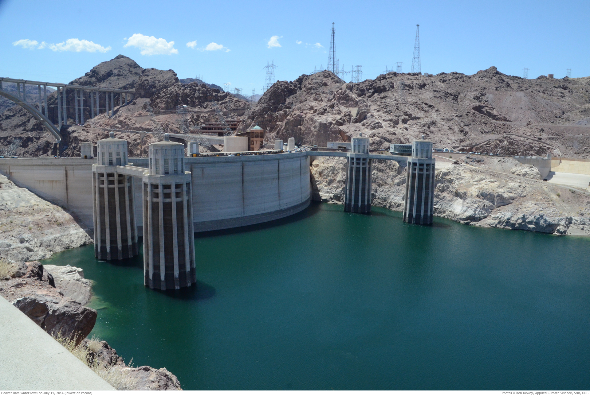 Hoover Dam LOW WATER LEVEL August 4 2017 - YouTube |Hoover Dam Water