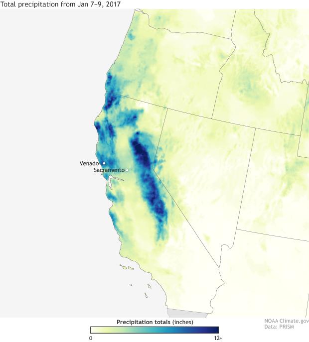 Rain, California, Atmospheric River