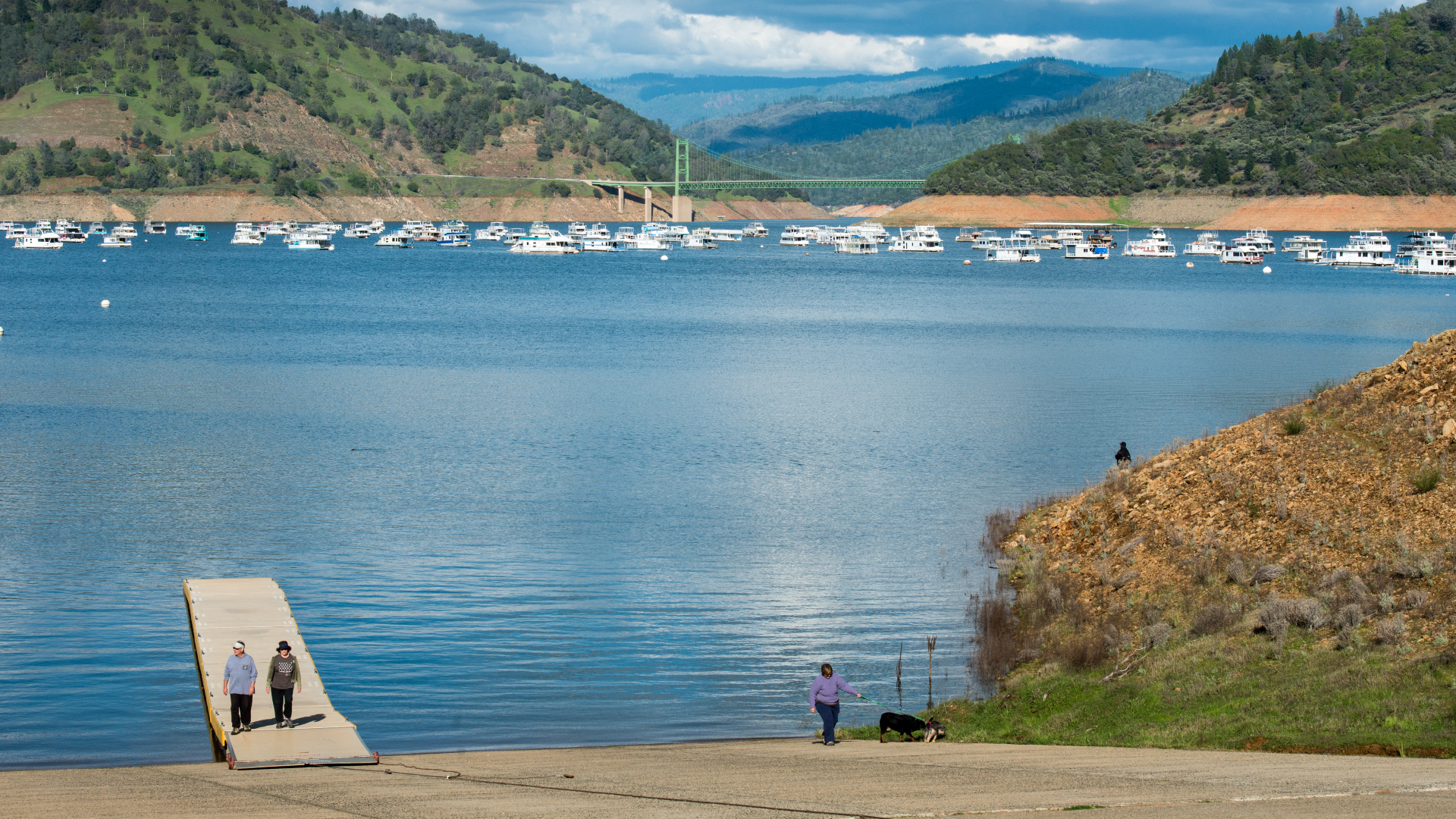 Photo Of Lake Oroville At 73 Capacity Noaa Climate Gov