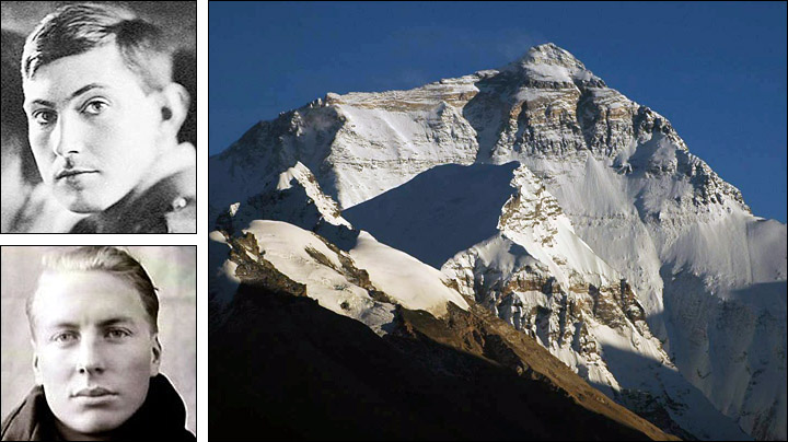 Mountain climbers and Mount Everest