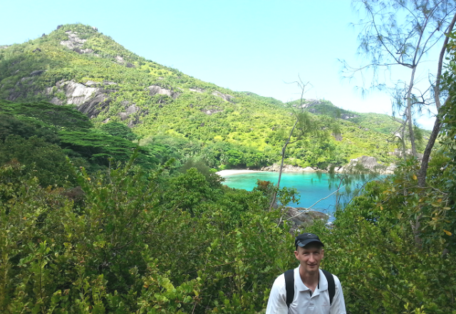 Mr. Jumaux in the western Indian Ocean nation of Seychelles