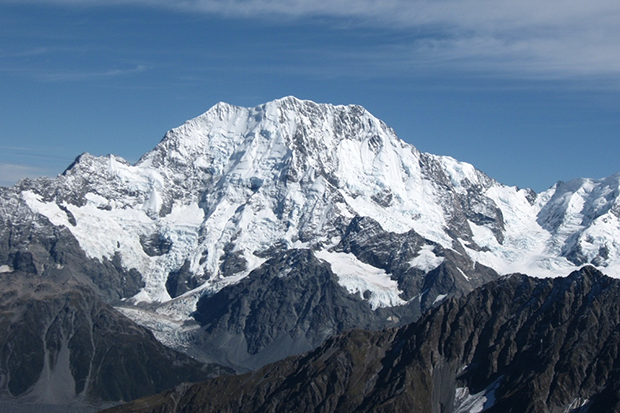 Photo of snow-capped Mount Cook, New Zealand