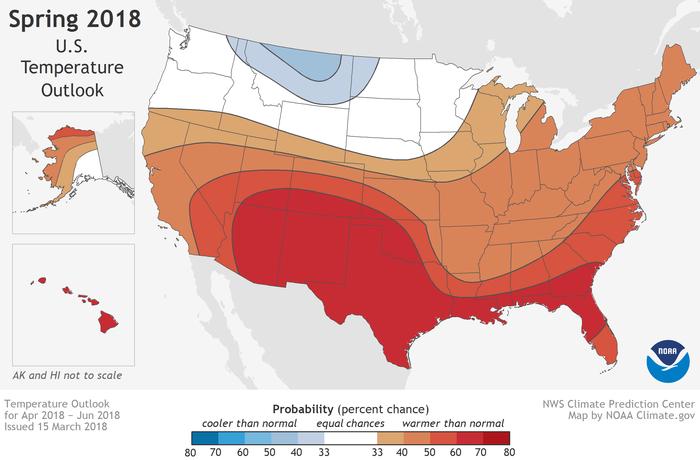 NOAA\'s Mike Halpert explains the agency\'s 2018 spring climate ...