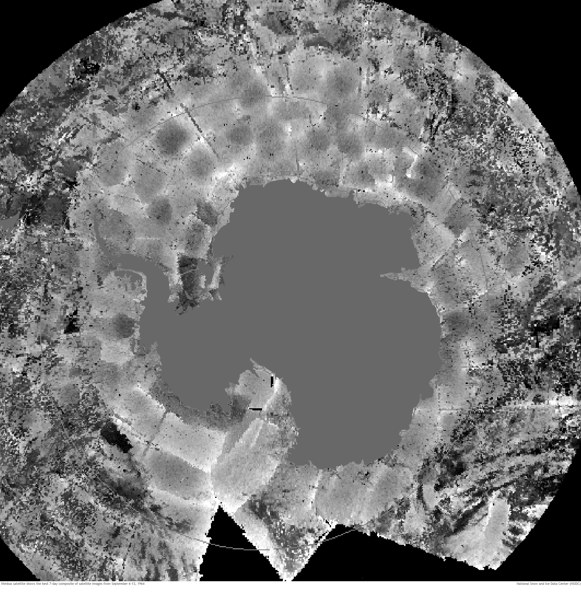 Earliest Satellite Images Of Antarctica Reveal Highs And Lows For - National geographic world satellite map
