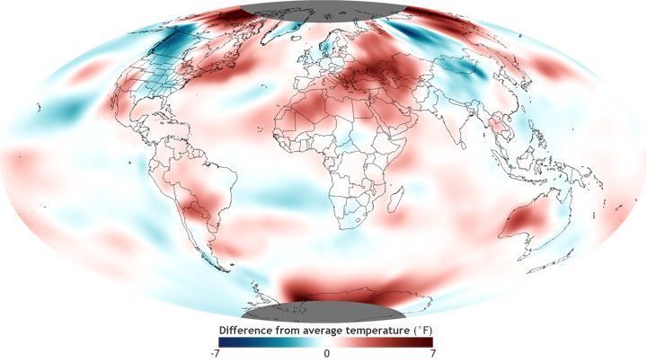 global temp anomaly from October 2012