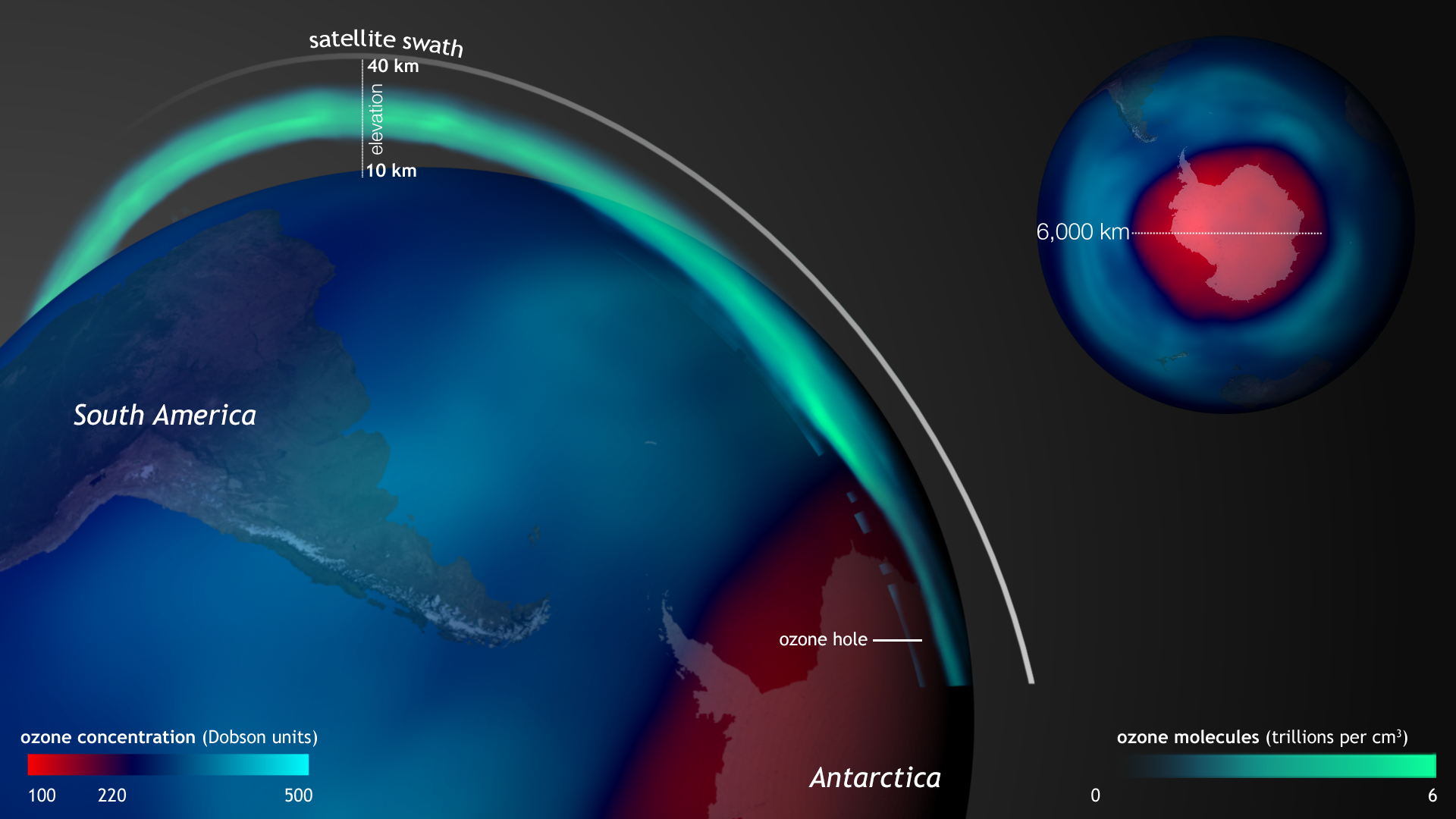 ozone hole Nasa scientists report that, in september, the hole in the ozone layer over the antarctic reached the smallest it has been at peak since 1988.