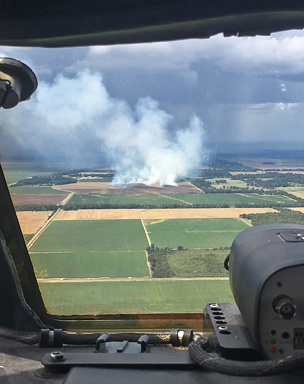 smoke, agricultural, fire, farm