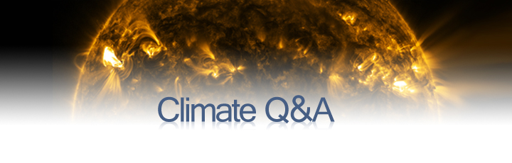 Sun and Climate Q&A Banner