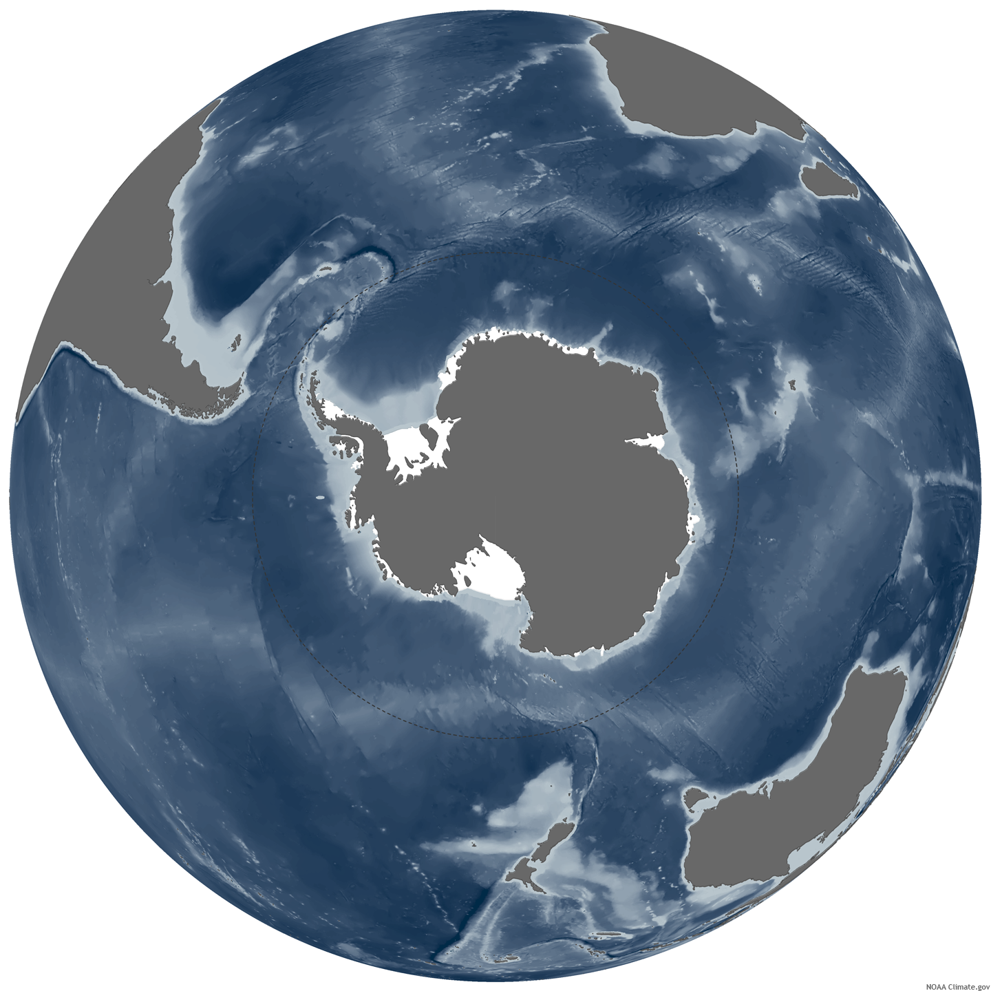 Polar Opposites the Arctic and Antarctic NOAA Climategov