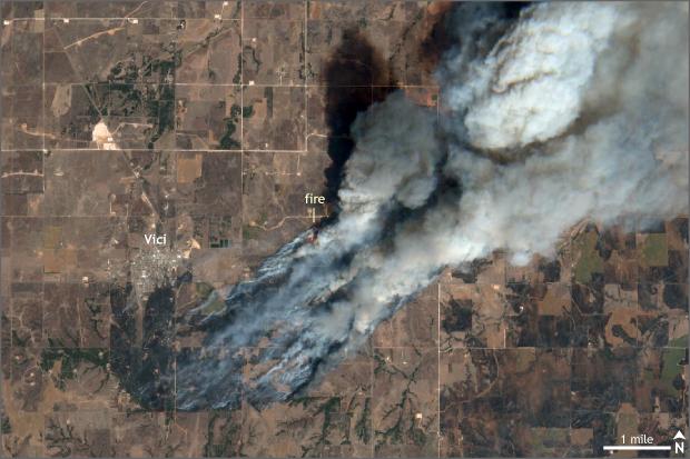Satellite, Sentinel, Wildfire