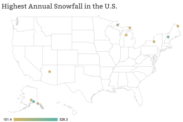 Snowfall Map Us Globalinterco - Blank us map noaa noaa