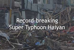 Record-breaking Super Typhoon Haiyan