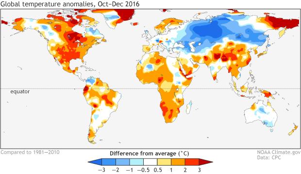 OND 2016 temperature
