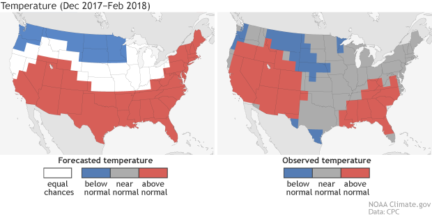 Outlook, winter, seasonal forecast, temperature, probabilities