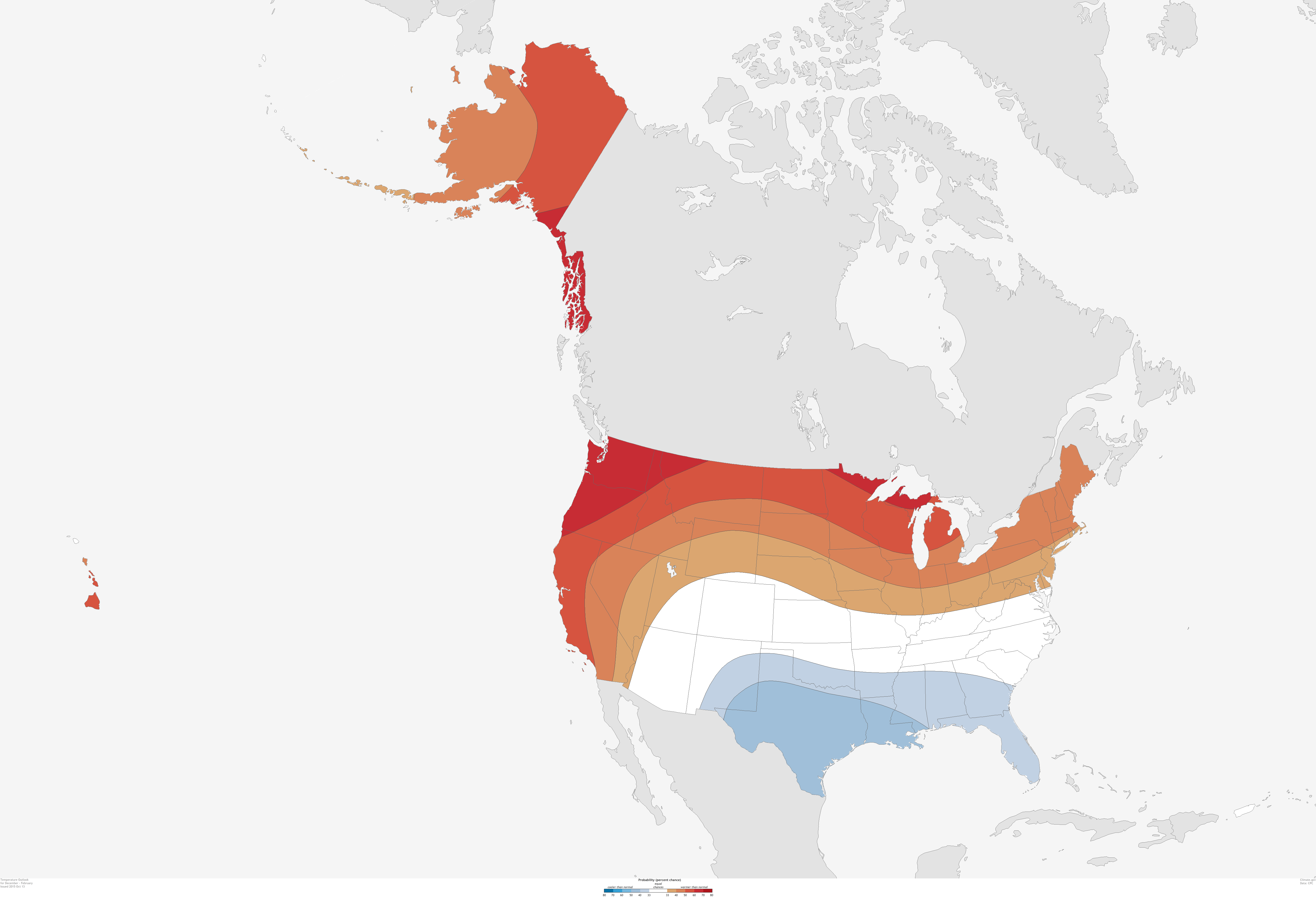 What To Expect This Winter NOAAs Outlook Reveals What Conditions - Map alaska superimposed us