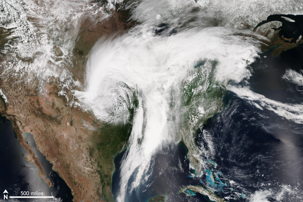 Storm, Great Plains, USA, severe weather