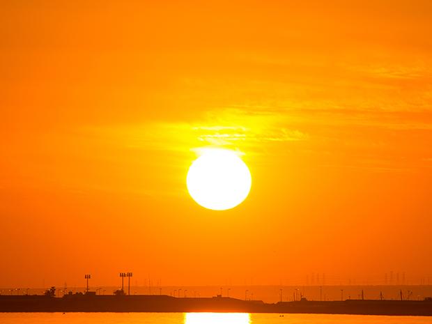 Sun, heat, Kuwait