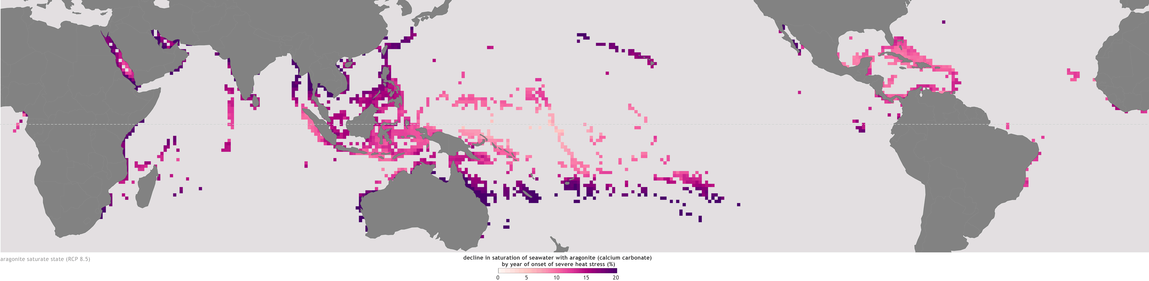 No safe haven for coral from the combined impacts of warming