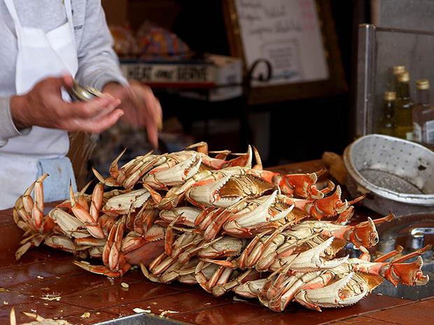 crab, west coast, San Francisco