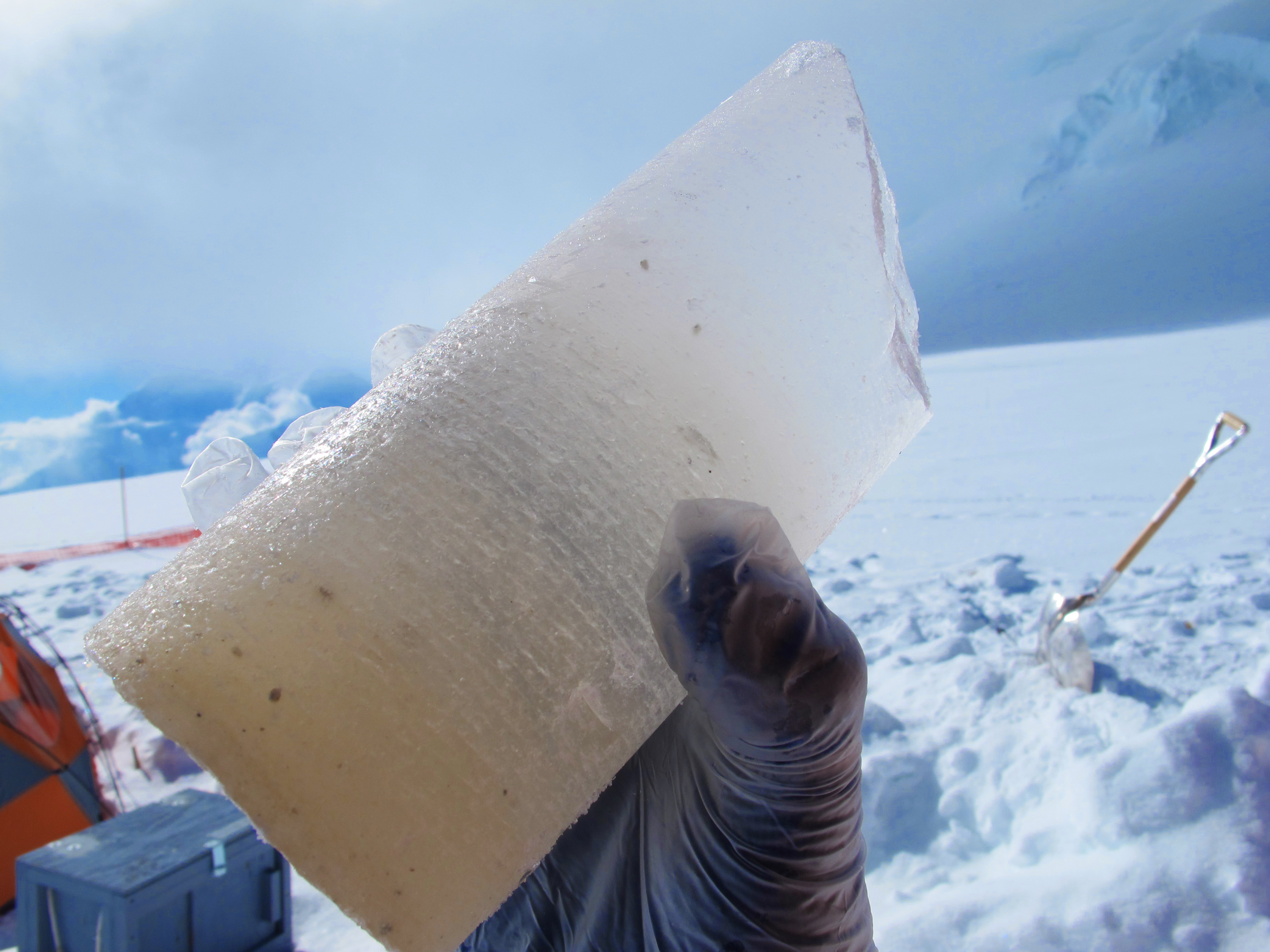 Ice core dating flaws means