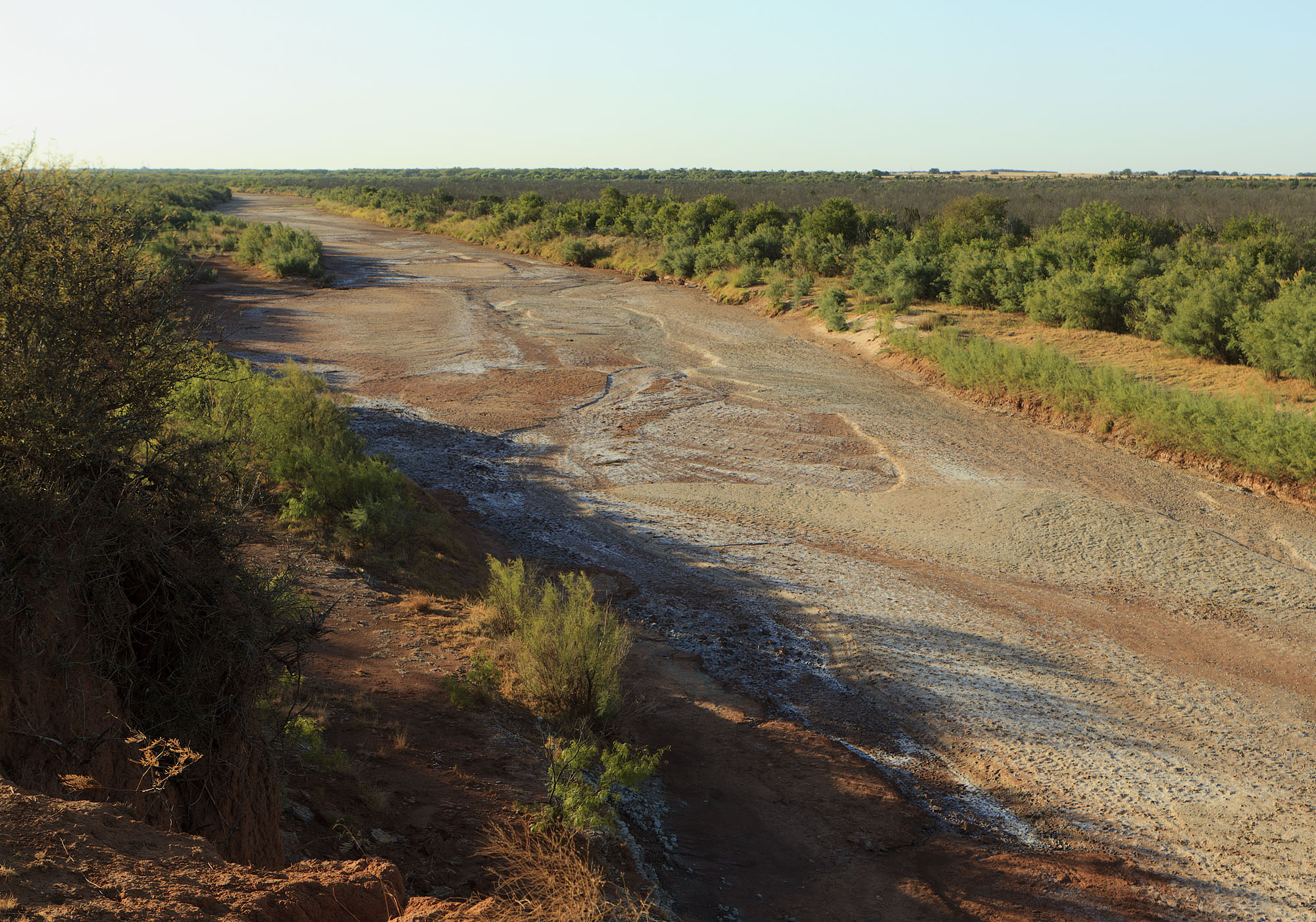 Dry Brazos River