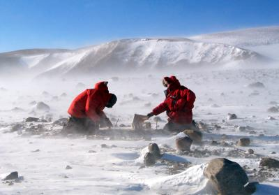 field work antarctica