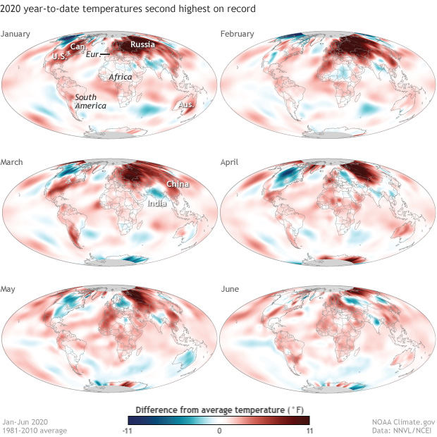 temperature, anomaly, global