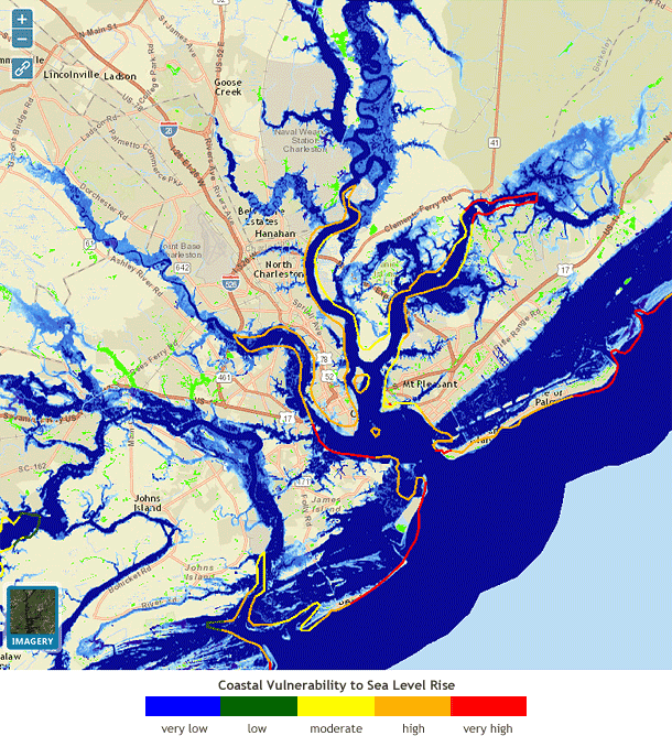 In Charleston Today39s Floods Are Tomorrow39s High Tides