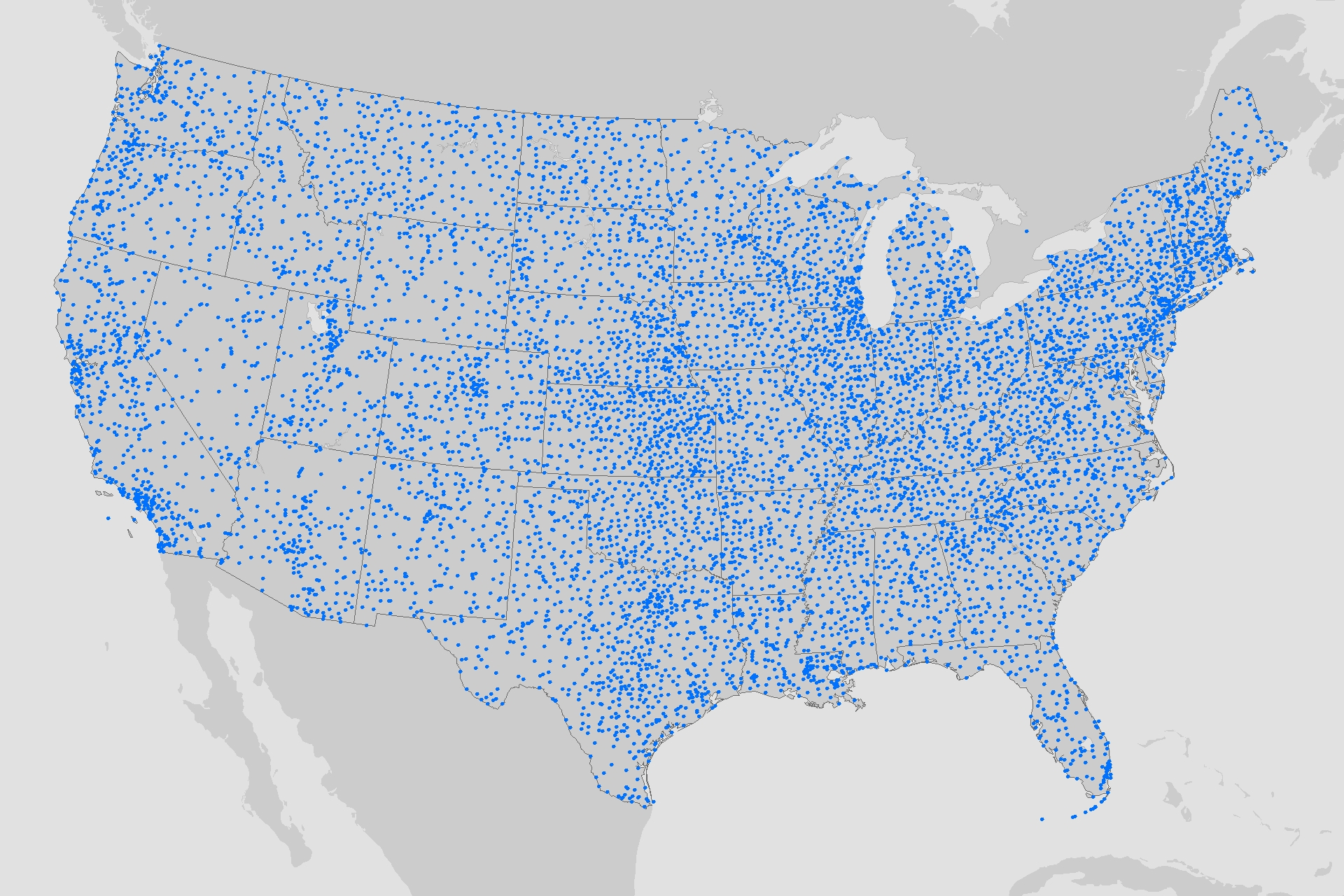 The New Climate Normals Gardeners Expect Warmer Nights NOAA - Data map of us