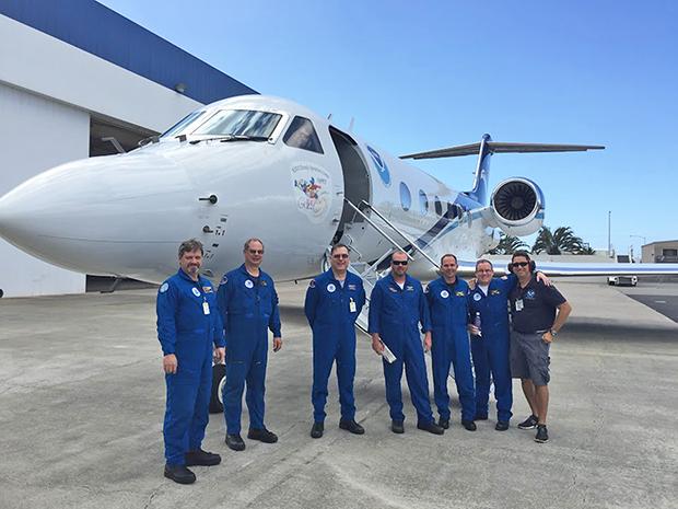 NOAA Gulfstream crew