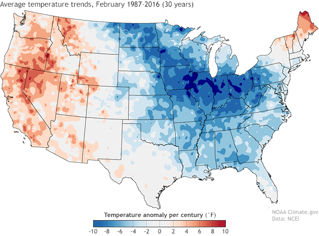 Mapping U.S. climate trends | NOAA Climate.gov on