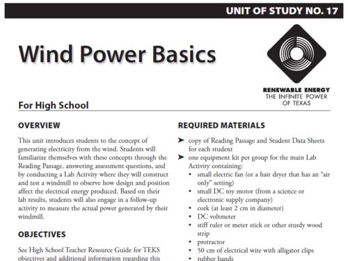 Wind Power Basics | NOAA Climate gov