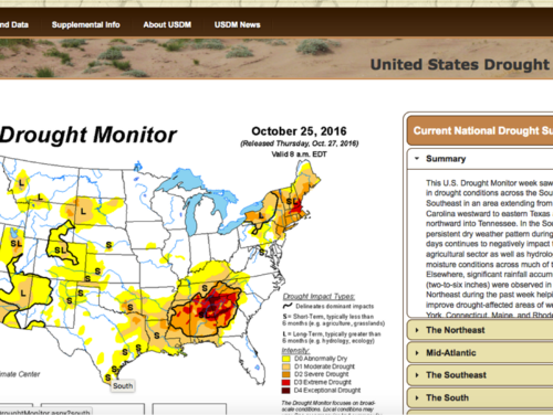 Us Drought Monitor Noaa Climategov - Drought-map-us